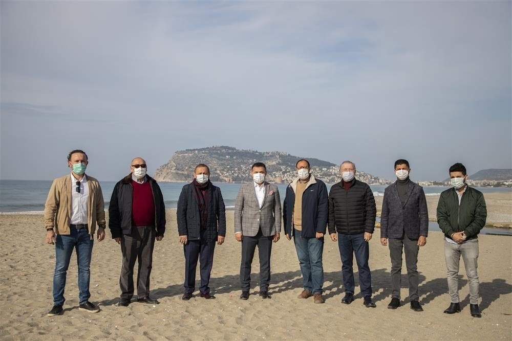 alanyada sahil bandinin cehresini degistirecek proje icin dugmeye basildi 0 gai4IV9Y
