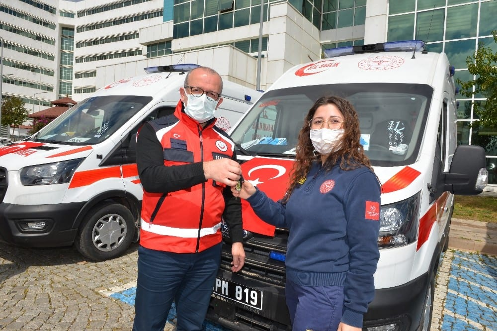 antalyaya 5 yeni ambulans 0 QSKSGGqr