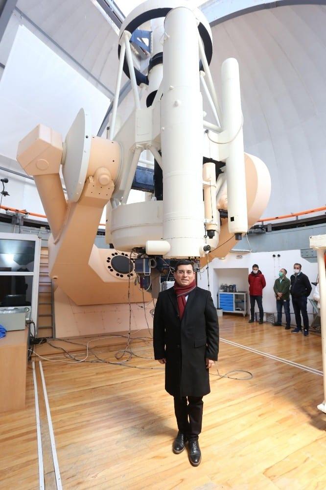 dokumaparka tubitak isbirligi ile astronomi merkezi kurulacak 3 UDqdraAi