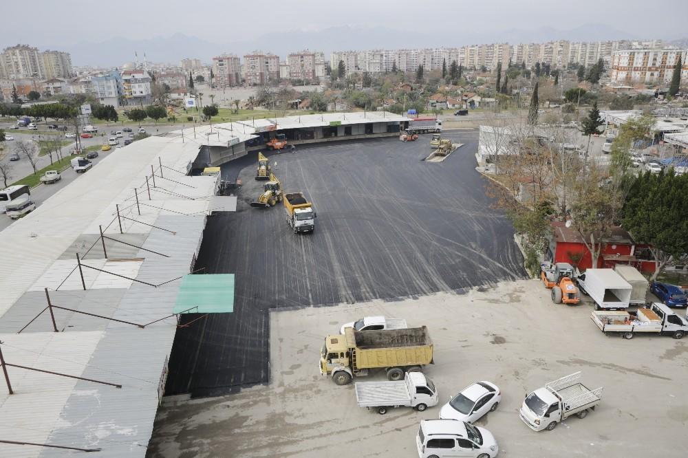 toptanci halinde 4 bin 500 metrekarelik alana asfalt calismasi 0 mJt6uaPZ